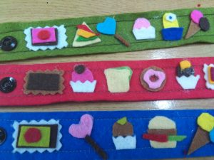 taller pulsera galleta