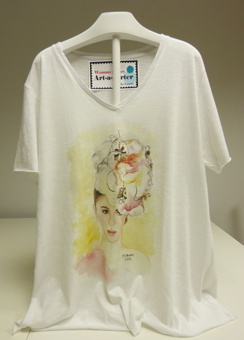 camisetas artisticas mercedes coloma
