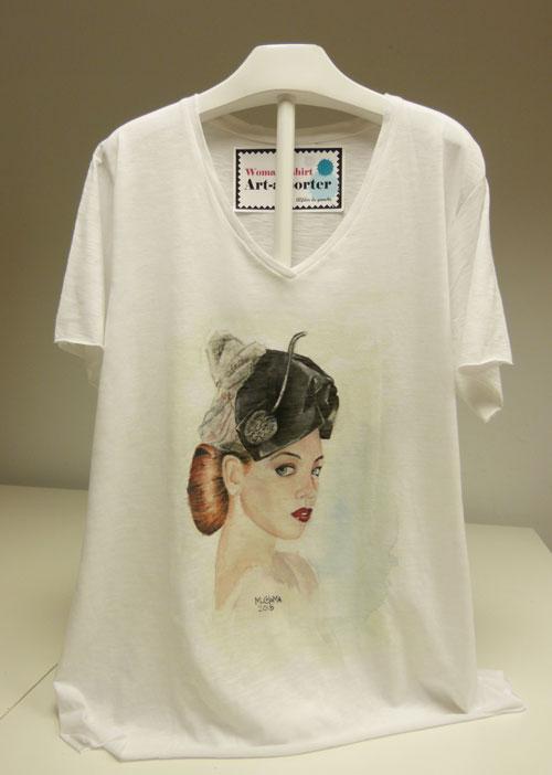 camisetas artísticas y originales por mercedes coloma