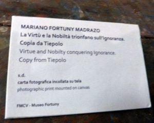 Auténtico vestido Delphos, creación de Mariano Fortuny y Madrazo