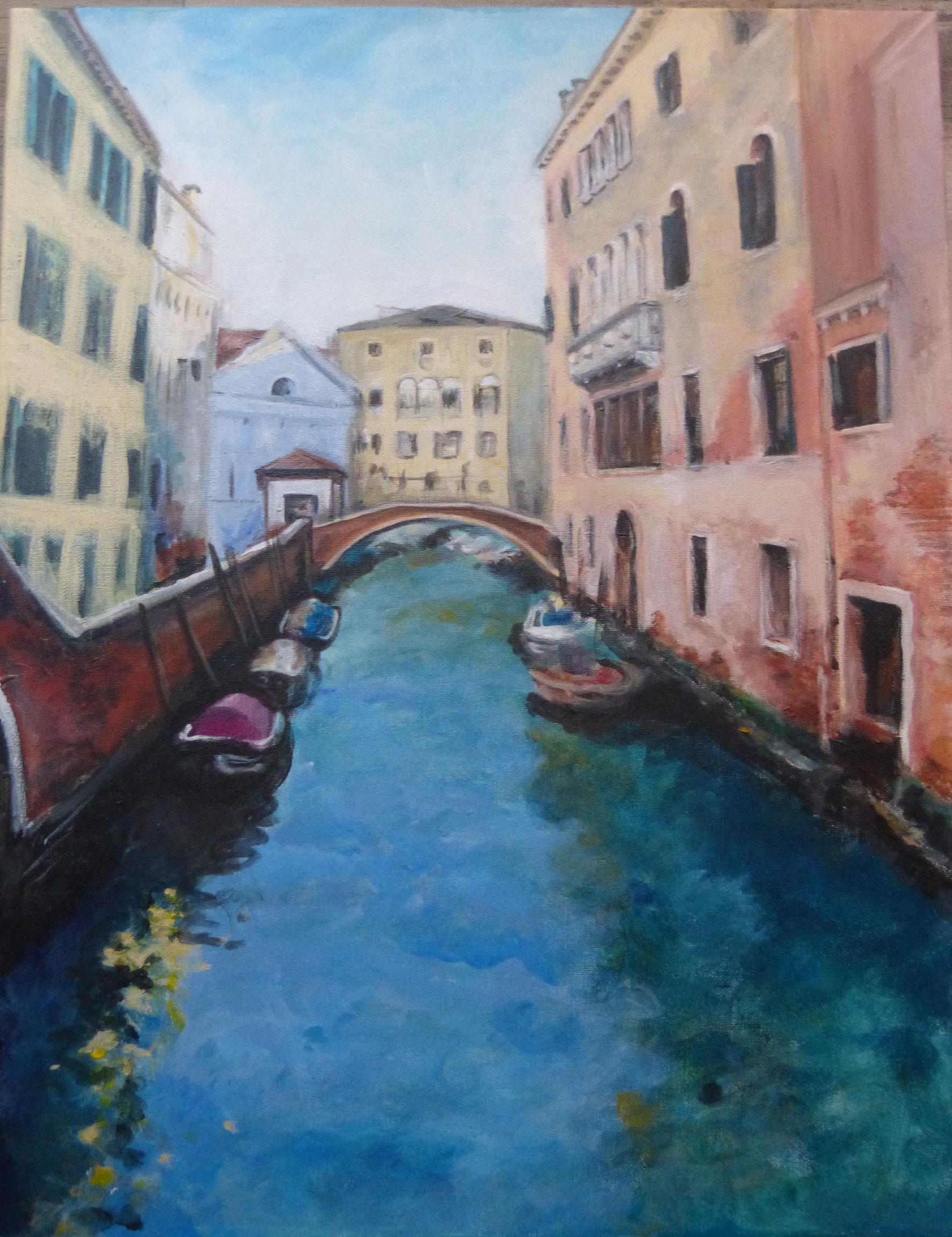 Colección de cuadros de paisajes venecianos